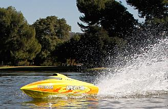 Rooster tail action