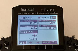 Data readout on my DS-14