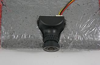 FPV camera installed