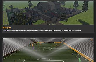 Hangar and Stadium Scenes