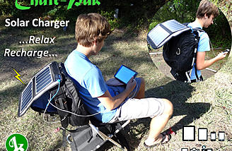Charge your devices in the field