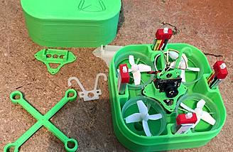 Holds your copter and batteries