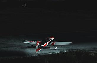 Giant scale night flying is a blast