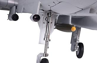 Metal retractable landing gear