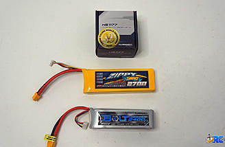 Batteries and HS1177 Camera provided