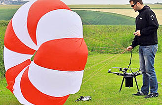 Drone parachute systems