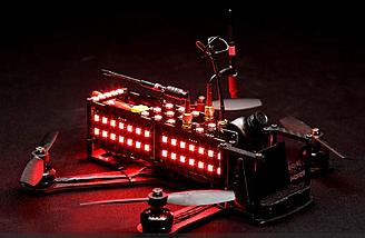 The DRL Racer 2 drone used on all DRL Races