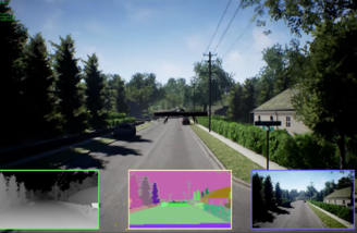 Photorealistic environments in Microsoft Drone Sim