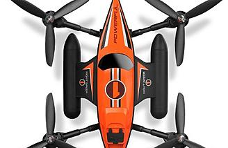 WLtoys Q353 drone with boat like hull body design