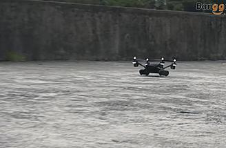 WLtoys Q353 drone also drives on the ground