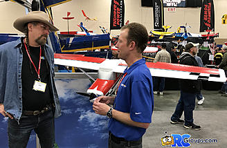 Jim and Matt discussing the Carbon Z Cessna