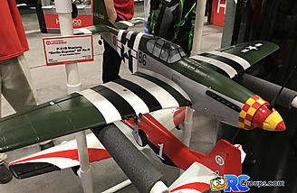 P-51 B model Berlin Express trim scheme