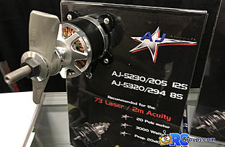 New electric motors from AJ Aircraft