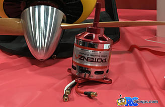 Quique recommends this Potenza electric motor to power the Yak