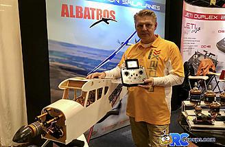 Fly this plane at Joe Nall with a Jeti radio