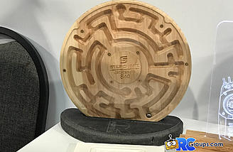 This ball bearing puzzle maze is a cool example of what you can do