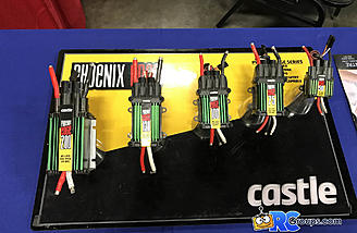 Phoenix Edge ESC's on display