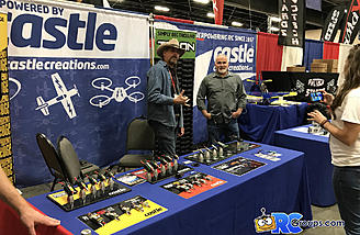 The Castle Creations booth at Toledo 2017