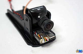 Spektrum FPV camera and video transmitter installed