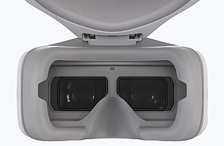 DJI Goggles feature two 1080p screen for high resolution FPV imaging
