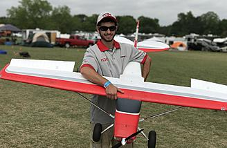 RJ with his Flex Innovations Cessna 170