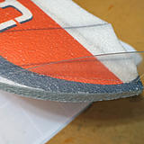 Glue in the wing vertical stabilizers