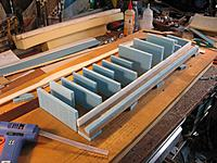 Name: Control surface LE and drag spar.JPG