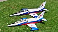 """Name: 103_6287.jpg Views: 211 Size: 137.1 KB Description: Rc-Warbirds """"JTM"""" 90MM L-39 & Fei Bao Turbine Coverted To Electric With A TJ100HP 11's 45C Packs 17lbs"""