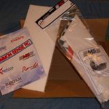 The box unpacked from Common Sense RC.