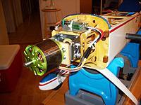 Name: CIMG9750.jpg Views: 263 Size: 102.8 KB Description: Tacon BigFoot 160 (680 grams!) 245kv on 12S, for 10 000 rpm