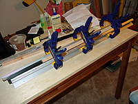 Name: DSC04014.jpg Views: 241 Size: 85.9 KB Description: shear web clamped in the fixure