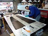 Name: DSC04072.jpg Views: 292 Size: 101.7 KB Description: Carbon skins wetted out, Duplicolor paint