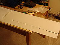 Name: DSC04132.jpg Views: 221 Size: 50.0 KB Description: Flap cut by advancing a few inches and poking through to check alignment.