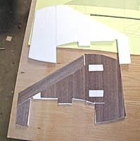 Name: P5080004.jpg Views: 689 Size: 102.9 KB Description: Veneer and foam pieces.