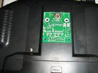 Name: Picture 019.jpg Views: 941 Size: 127.9 KB Description: View of the transmitters back. The PCB will be mounted in a small flat plastic case.