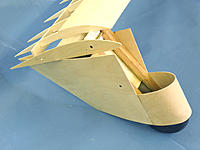 Name: Dragonfly 04.jpg Views: 269 Size: 183.1 KB Description: Shown here is the wing ribbing, designed to be cut from sheet balsa with the minimum of wastage.
