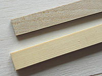 Name: Bass_Cyparis.jpg Views: 236 Size: 301.7 KB Description: The length of Bass (above) was rejected for this build because just off shot it has a horrible twist in the grain due to a branch being near. Never had that with Cyparis. (Background is medium balsa)