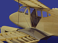 Name: Dragonfly 42.jpg Views: 247 Size: 196.7 KB Description: The wings attached to the fuselage. The epoxy holds the top wing at the right incidence once set.