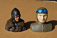 Name: DVII Pilot and Spandau 005.jpg Views: 243 Size: 62.1 KB Description: A good side-by-side comparison between the Aces of Iron Pilot and Mr Bubblehead.
