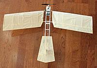 Name: 12-11-24_Fokker-Spin-3_4136.jpg Views: 81 Size: 19.4 KB Description: Spin top view showing wing sweep angle.