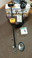 Name: 0930141658a.jpg Views: 31 Size: 730.0 KB Description: Garrett Ace 250 Metal Detector with 6x9 Coil, Coil Cover, Sound Hound Adjustable Volume Headphones, Owners Manual, Instructional DVD, Original Packaging.