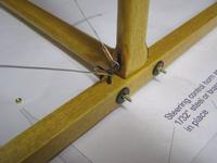 Name: bleriot 123.jpg Views: 452 Size: 59.9 KB Description: Close up of joint and bracing wire swage