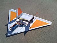Name: FoamBoardDelta 3.jpg Views: 274 Size: 301.3 KB Description: Foam Board Delta 2, typical prop through a slot.