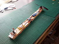 Name: Photo128.jpg Views: 296 Size: 104.9 KB Description: Gyro - Throttle test rig.