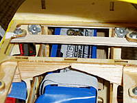 """Name: P1010445.jpg Views: 207 Size: 85.2 KB Description: 3/32"""" ply connecting the forward cabane struts. The cross brace has to modified for the battery to fit down in."""