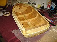 Name: IMG_2346 (Custom).jpg Views: 191 Size: 187.2 KB Description: Covered the inside and the stern with epoxy resin to seal it up. Will do the rest of the outside of the hull soon.