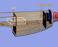 Name: tray.jpg Views: 427 Size: 70.0 KB Description: Motor shaft could puncture the Lipo in the event of a nose in.