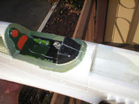 Name: P1010100.jpg Views: 137 Size: 75.2 KB Description: One layer of .5 fiberglass applied with WBPU inside the battery box.  Cockpit is painted.