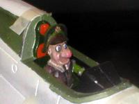 Name: pilot13.jpg Views: 134 Size: 90.3 KB Description: Fuselage halves glued.  The cockpit needs a bit of touch up paint.