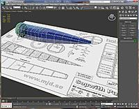 Name: Pup-3DS-00.jpg Views: 261 Size: 203.7 KB Description: A Sopwith Pup fuselage being laid out in 3DSMax.  I like the flexibility and precision you get with GMax and 3DSMax.